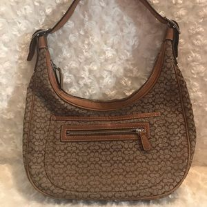 Coach Mini Signature C Hobo Shoulder Bag